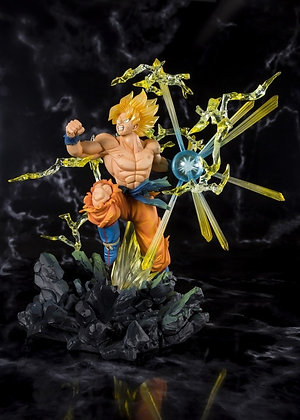 Super Saiyan Goku Dragon Ball Z Figuarts ZERO  (The Burning Battles)