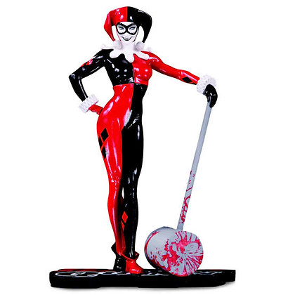 Harley Quinn Red White And Black By Adam Hughes DC COLLECTIBLES