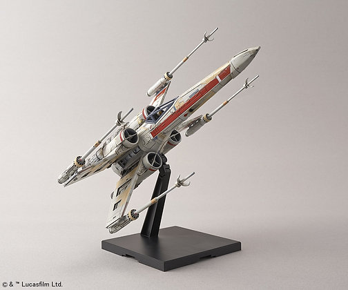 """Red Squadron X-Wing Starfighter Special Set """"Rogue One"""" Bandai 1/72 Plastic Mode"""