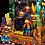 Thumbnail: Crash Bandicoot Ultra Deluxe con máscara Aku Aku NECA