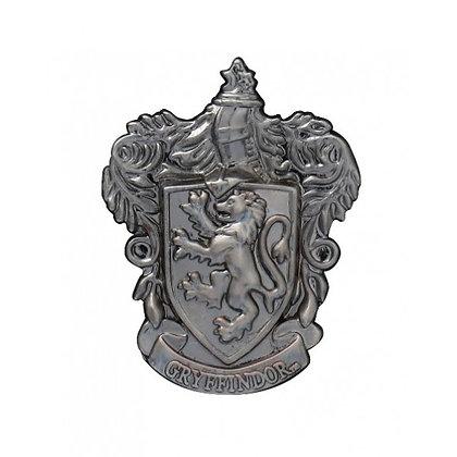GRYFFINDOR Crest pewter lapel PIN MONOGRAM