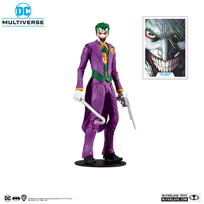 "The Joker Rebirth - DC Multiverse - Mcfarlane Toys - 7"""