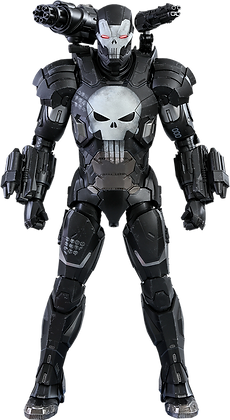 The Punisher War Machine Armor 1:6 Hot Toys Video Game Masterpiece Series