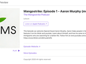 MurphsLife Featured on Apple Podcast   Mangostrike