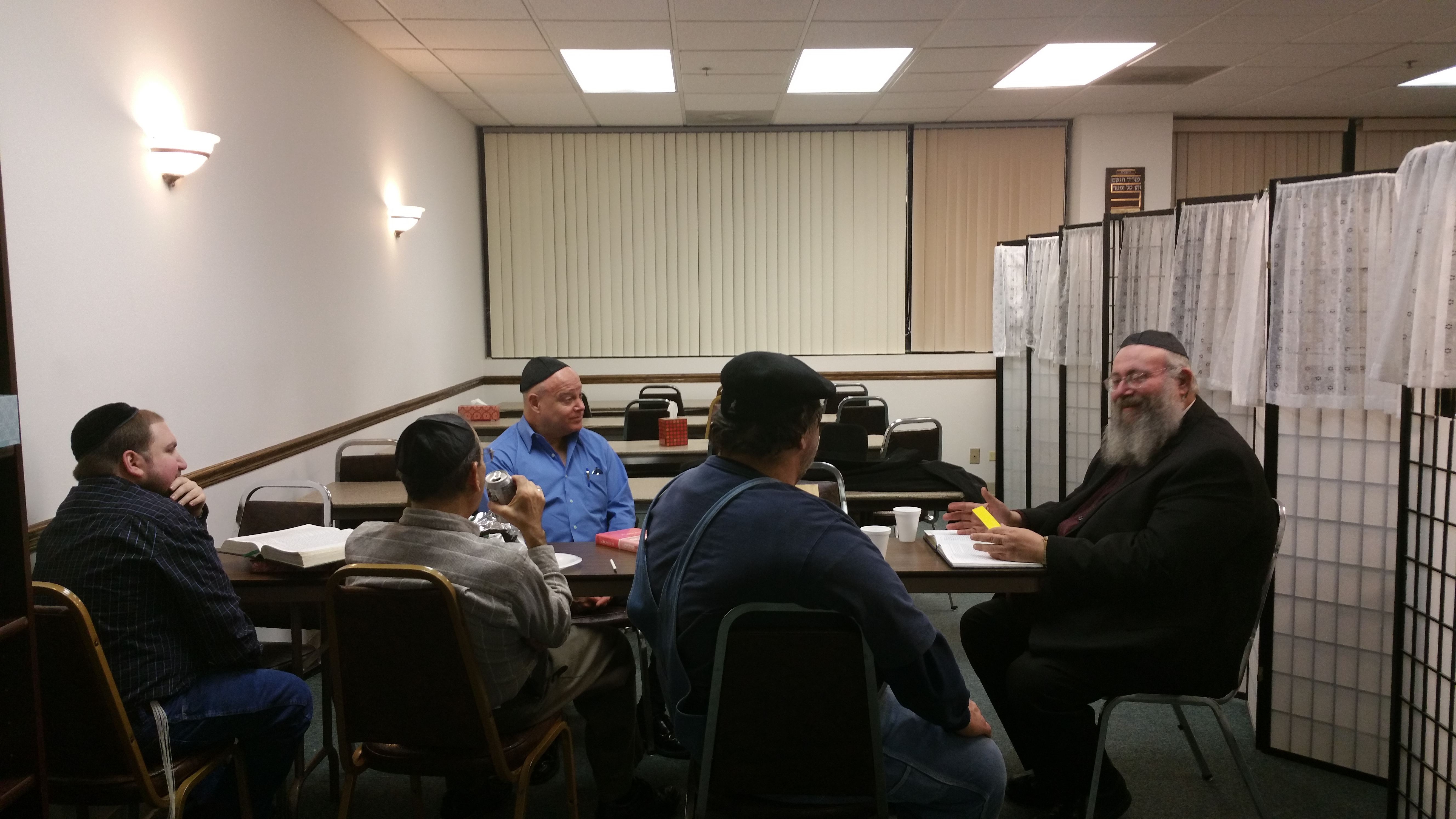 Rabbi Miller's class