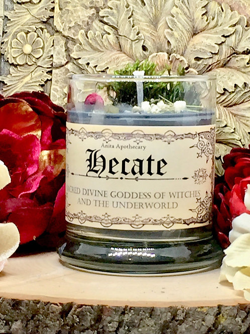 Hecate Divine Goddess Ritual Offering Candle