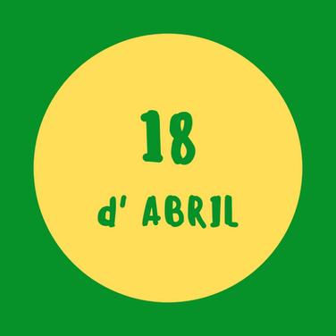 activitats 19 d'abril