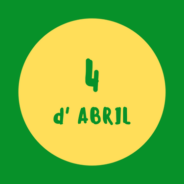 activitats 4 d'abril