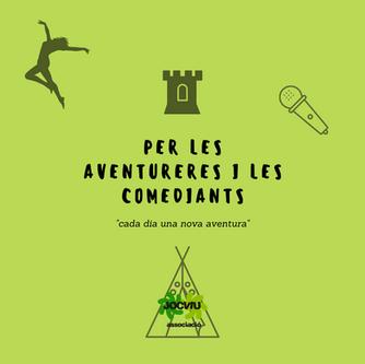 Per les aventureres i les comediants