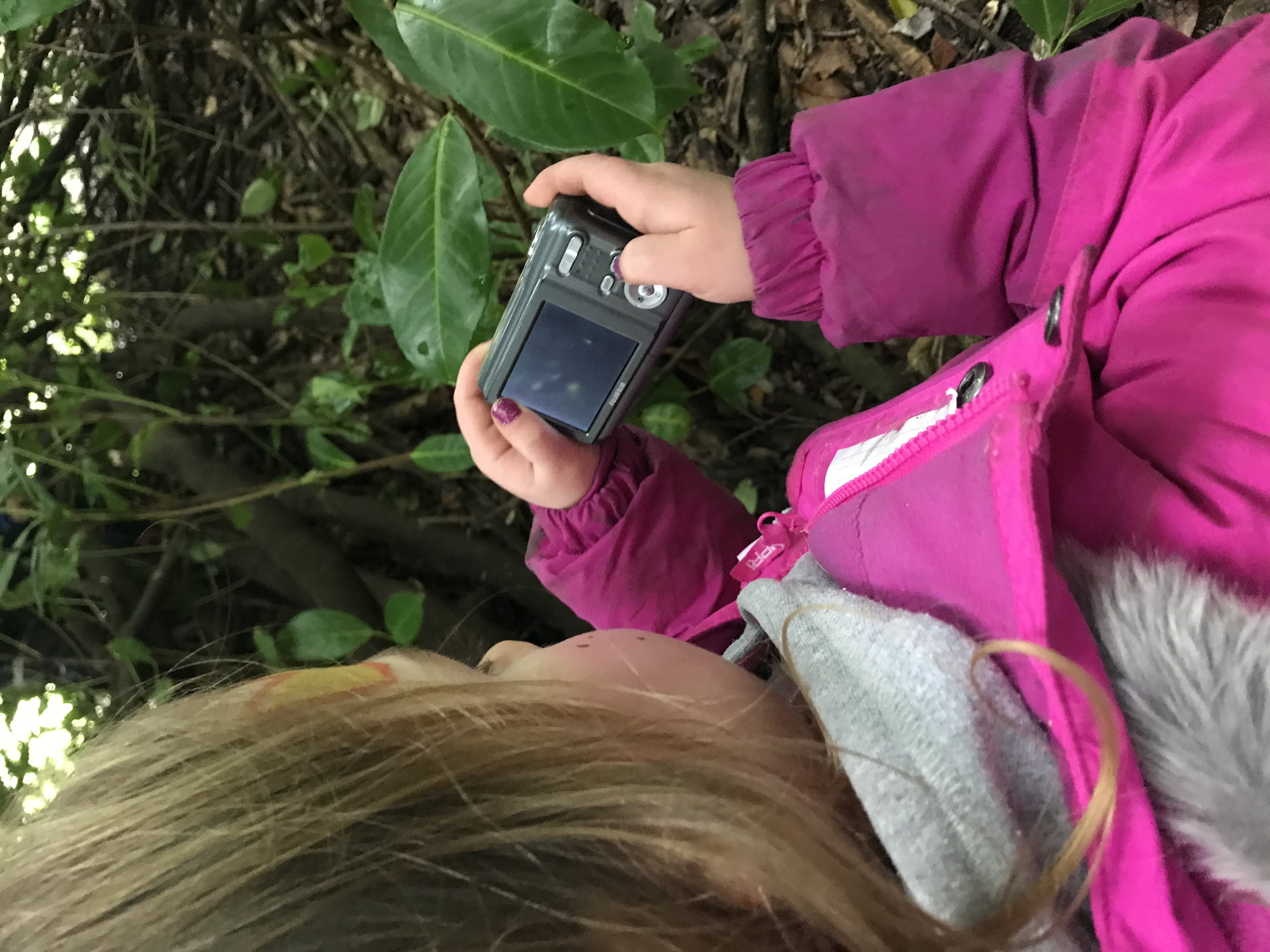 Technology the forest school way!