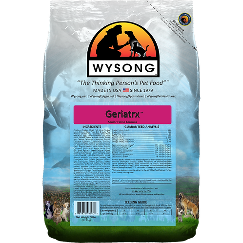 Wysong Geriatrx Case (4) 5 lb bags