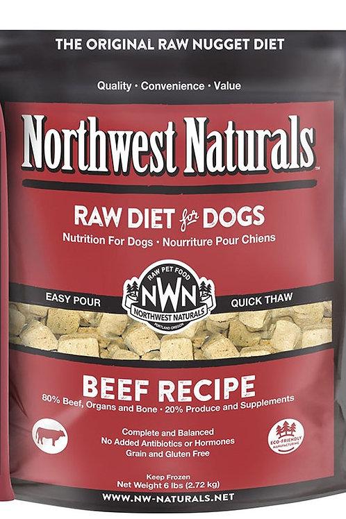 Northwest Naturals Frozen Raw Beef 6 lbs.