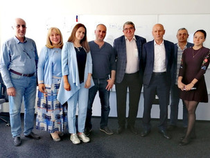 НАЗВР: состоялась встреча руководства АО «Соцмедика» и  Национальной Ассоциации Заслуженных врачей