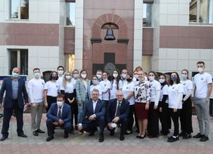 СтГМУ:Встреча Губернатора CК В. В. Владимирова с активистами «Академии Отличников»