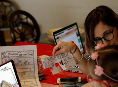 Online Learning Inequities
