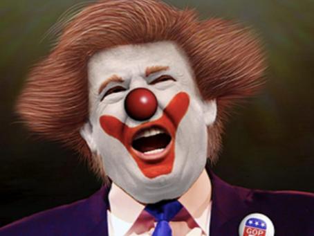 Trump Rally Poser