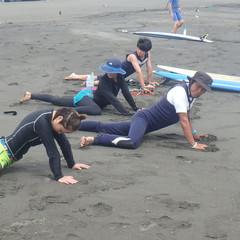 6-3 海に入る前の準備体操