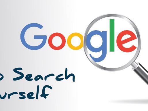 Google Yourself | Personal Branding 101