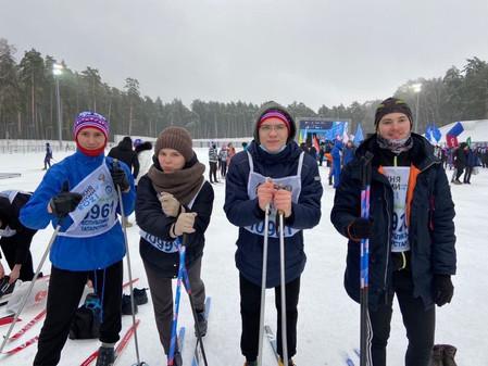 Лыжня России 2021 «Локомотив»