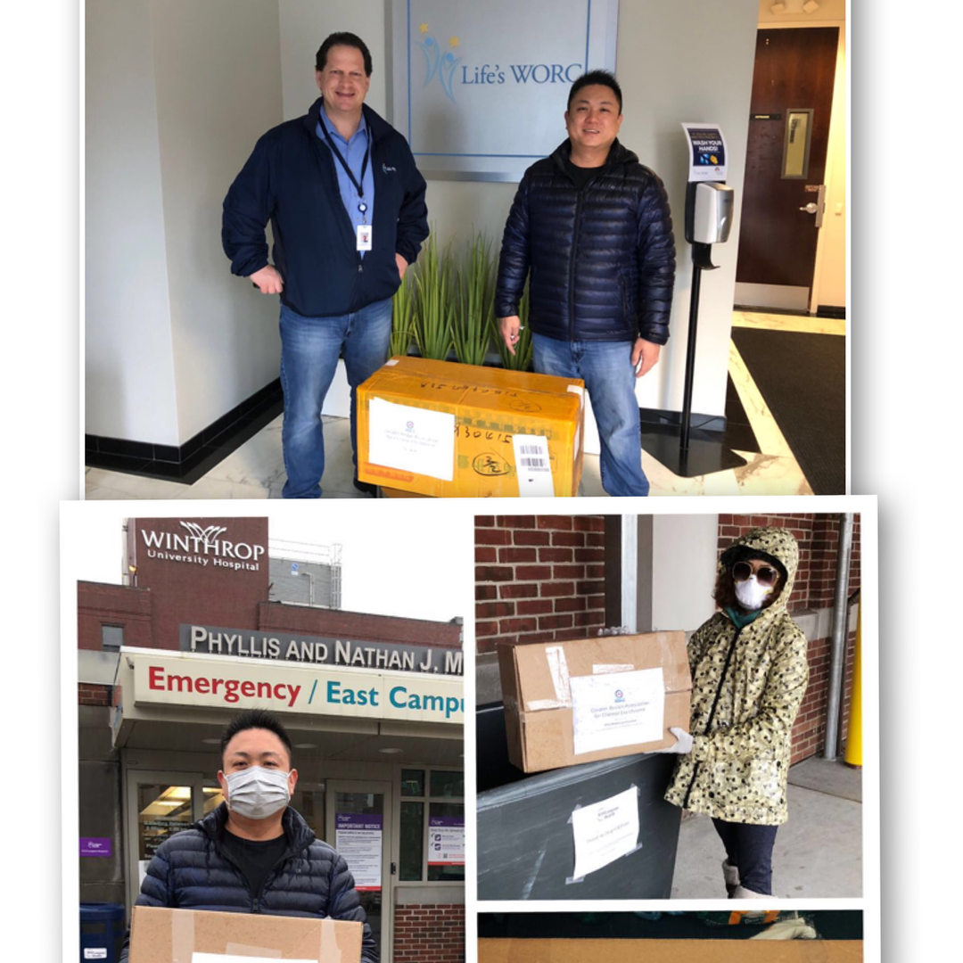 Donations to Life's WORC & NYU Winthrop