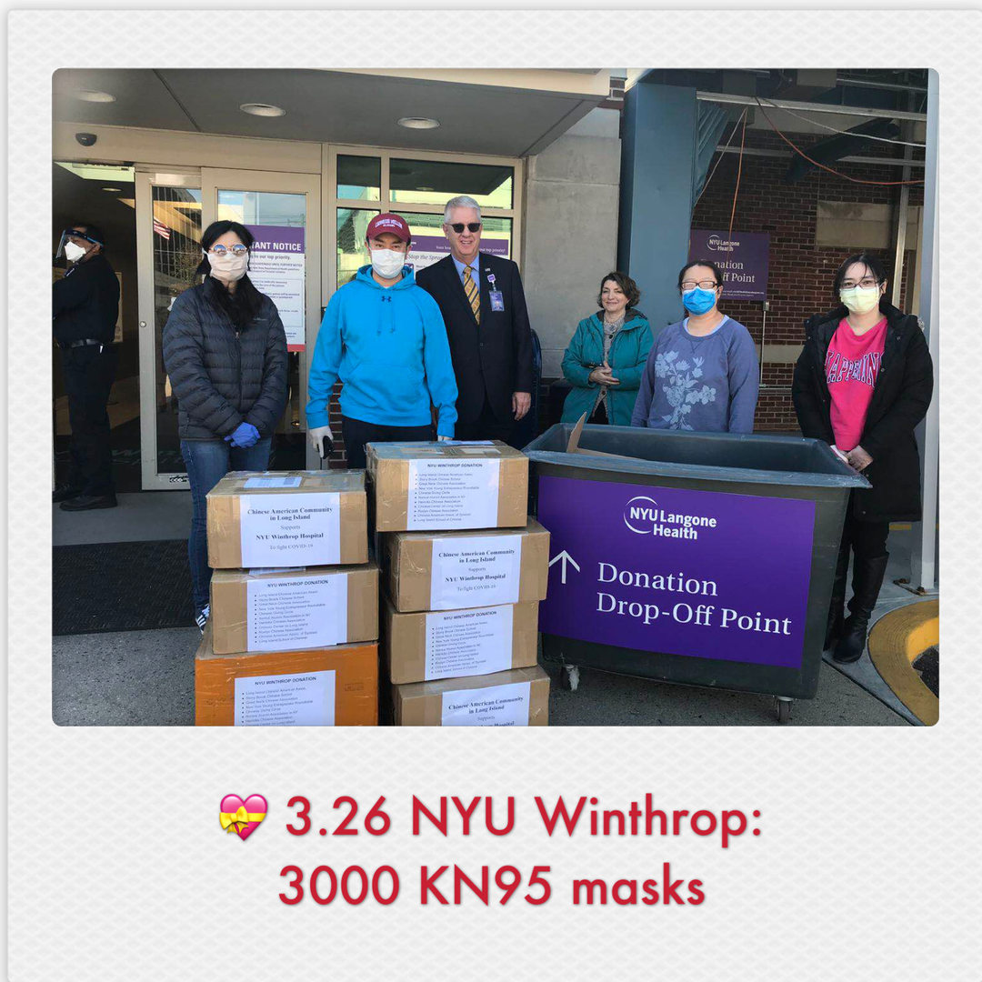 Donations to NYU Winthrop