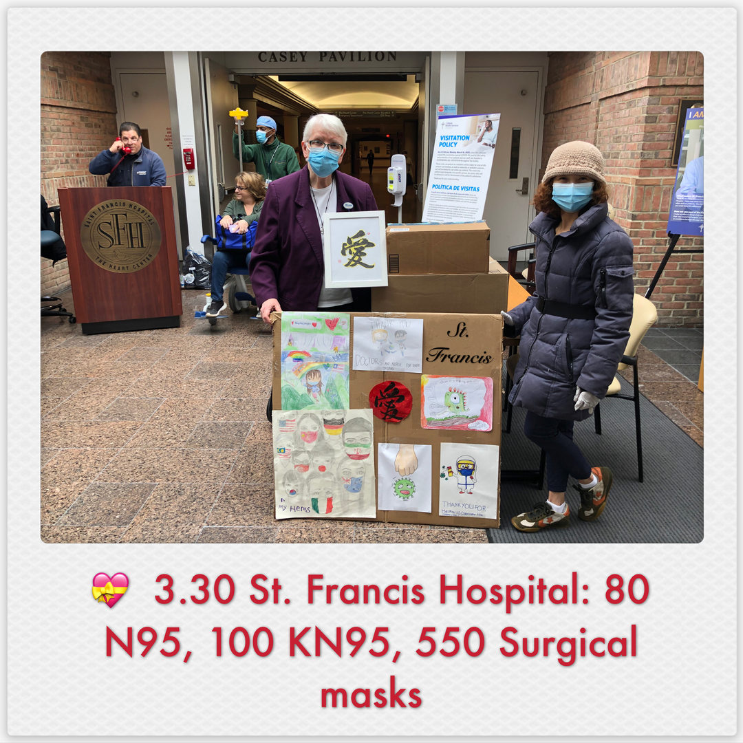 Donations to St. Francis Hospital