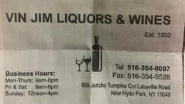 Vin Jim Liquors & Wines