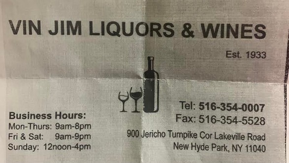 Vin Jim Liquors & Wines