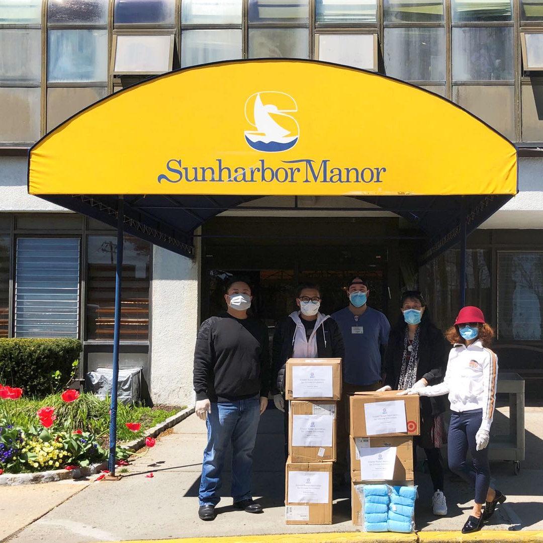 4.28.20 Donations to Sunharbor