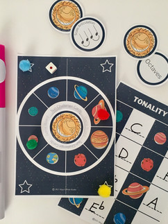 Solar System Scale Game