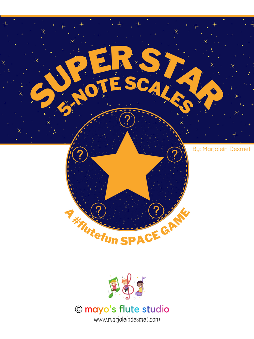 Super Star 5 note scales
