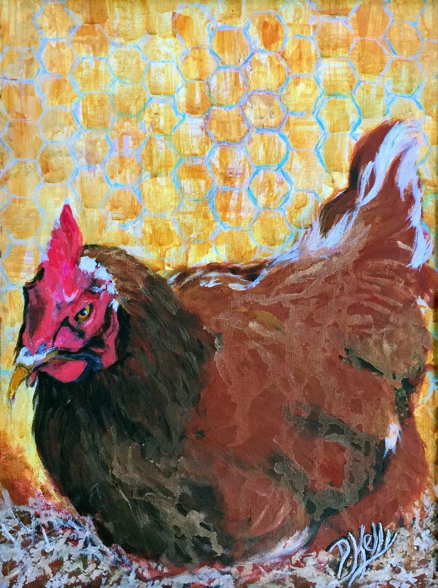 Chicken on the Nest