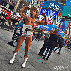 Naked Cowboy NYC