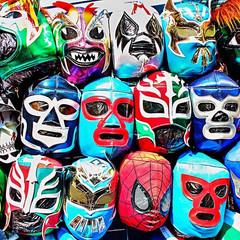 Luchadore Masks Olvera St.