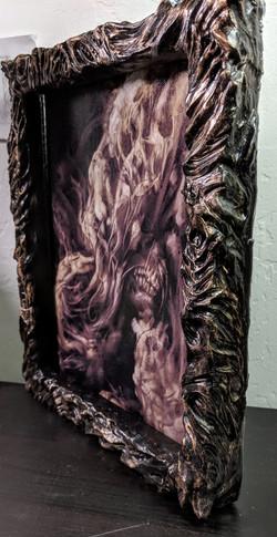 Sculpted frame