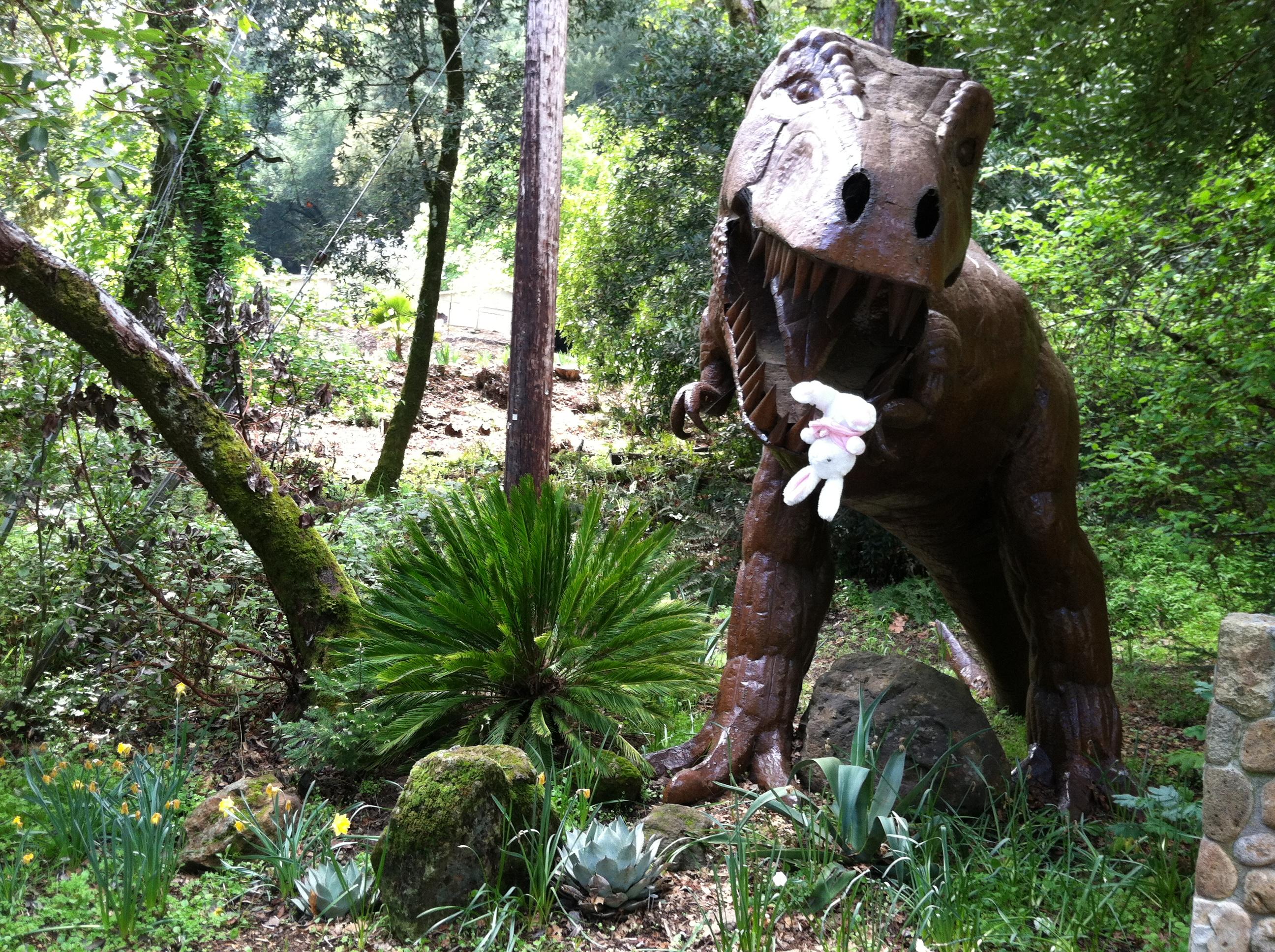 Sago Palm (and Dinosaur)