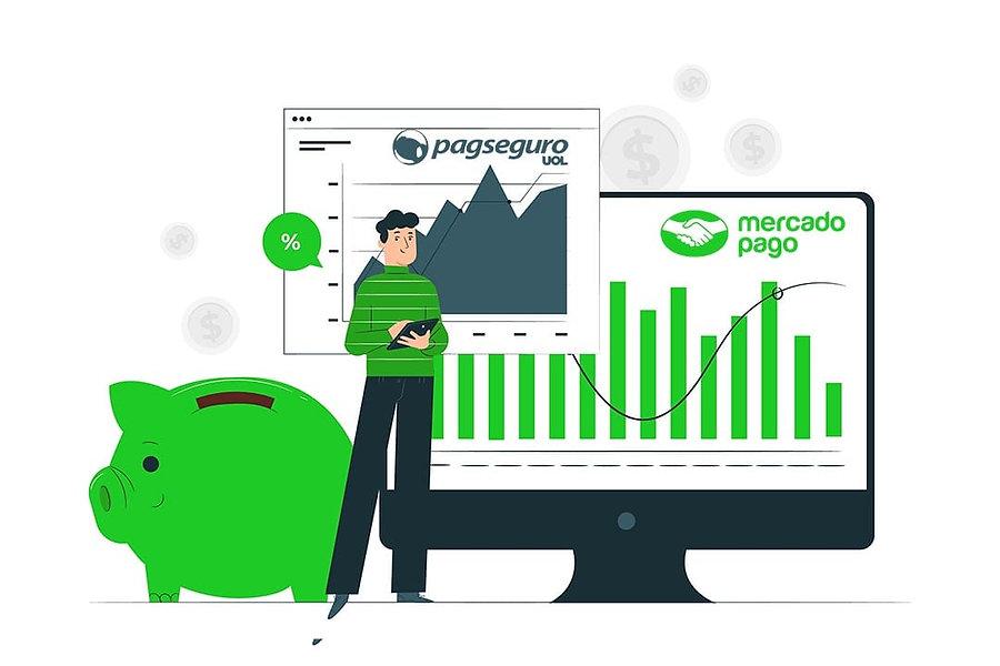 Lojas Virtuais com Mercado Pago e Pagseguro. Tenha seu site agora mesmo | makeinsites.com.br