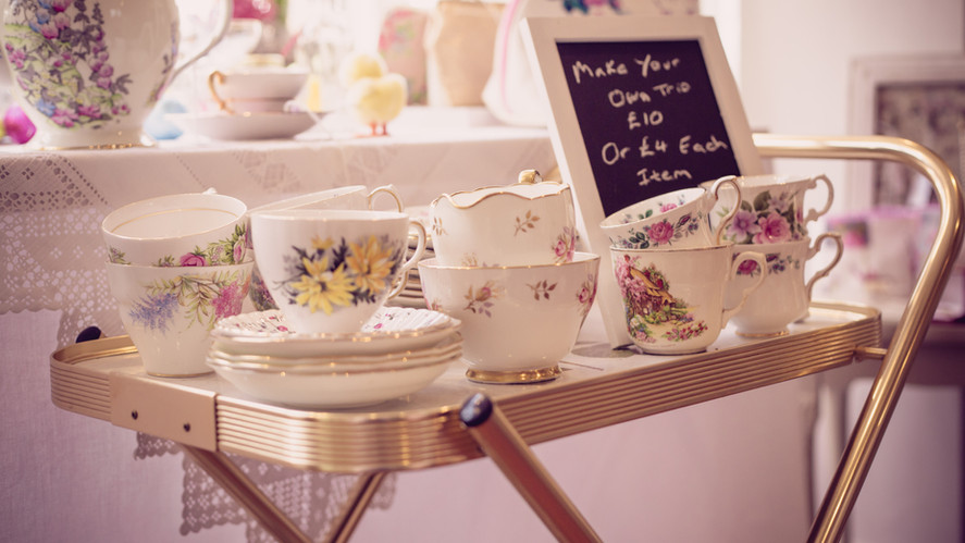 Pillows & Porcelain - Vintage Crockery