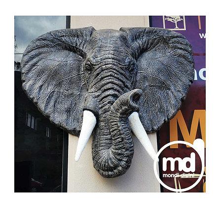 Estatua Cabeza de Elefante