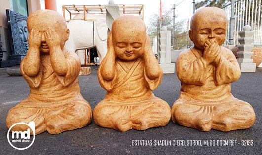 Estatuas Ciego Sordo Mudo
