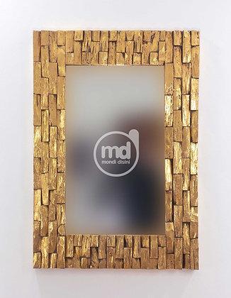 Espejo Cacak Bendy 100x70 Oro