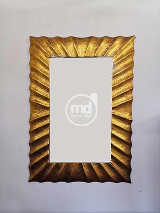 Espejo Square Surya 100x70 Oro