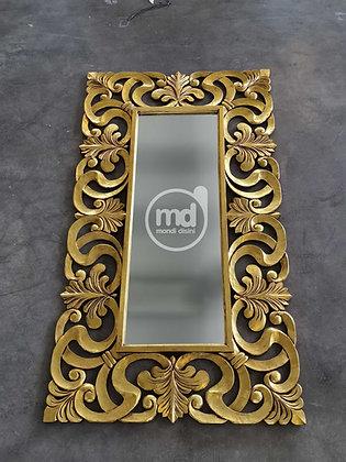 Espejo Square Duphine 220x120 Oro
