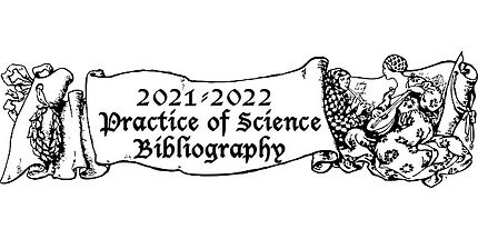 2021-22 practice of science bibliography