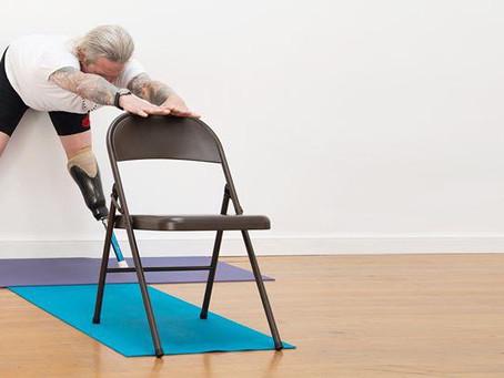 Conheça o Yoga Acessível
