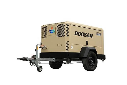 Mobiele Compressor: Doosan 10m³/min - 10 bar met nakoeler