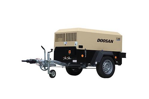 Mobiele Compressor: Doosan 2,5m³/min - 7 bar