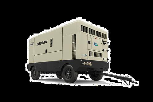 Mobiele Compressor: Doosan  25m³/min - 12 bar met nakoeler