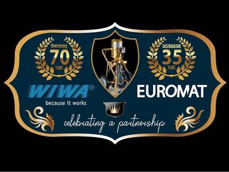 WIWA en Euromat: 35 jaar partnerschap
