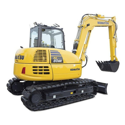 Minigraver 8 ton